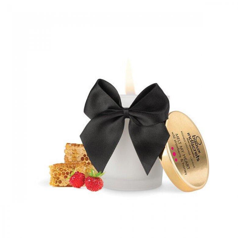 Bijoux Cosmetiques masažo žvakė (braškė)