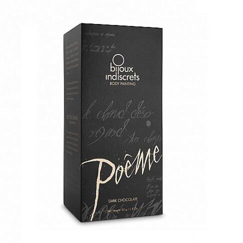 Bijoux Poeme kūno tapyba (juodasis šokoladas) 50 g