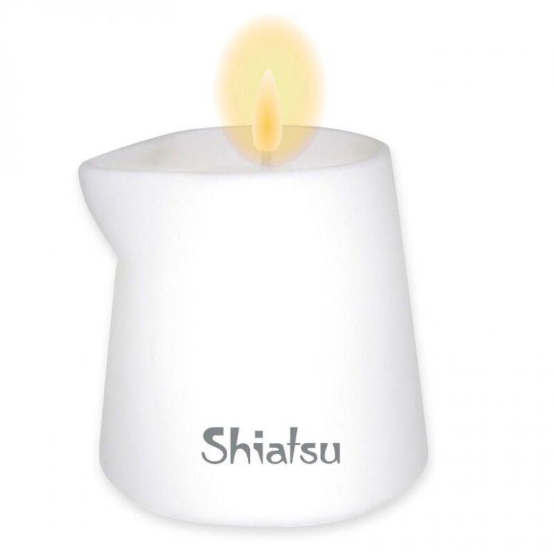 Shiatsu masažo žvakė porai (aviečtės ir vanilės kremas)