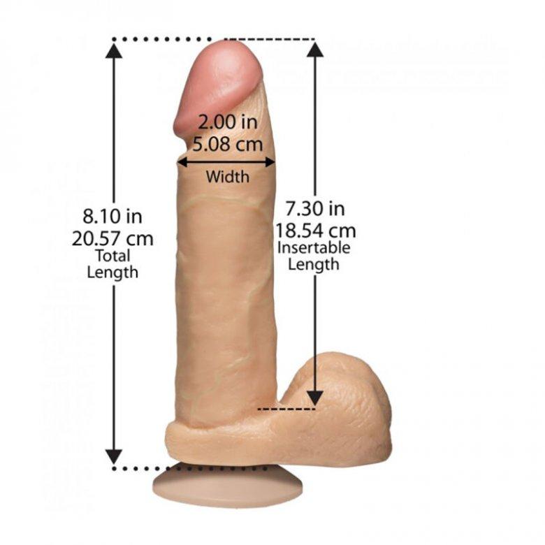 Tikroviškas 20 cm Penis