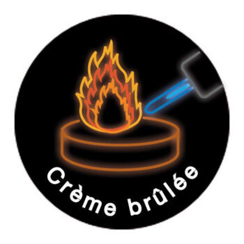 Voulez-Vous masažo žvakė (Creme Brulee)