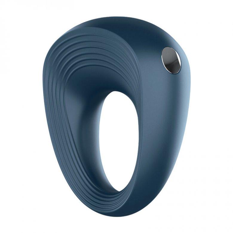 Satisfyer Plus penio žiedas (mėlyna)