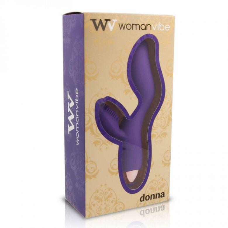 WV woman Donna vibratorius (violetinė)