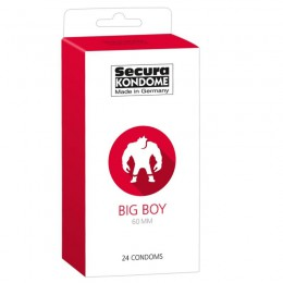 Secura Big Boy prezervatyvai (24 vnt)
