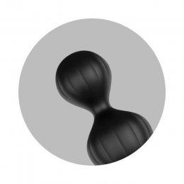 Satisfyer analinių kamuoliukų rinkinys (juoda)
