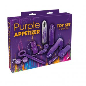 Erotinis rinkinys Purpuras (9 vnt)